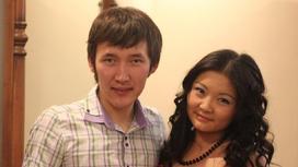 Серикжан Тлеулесов с супругой