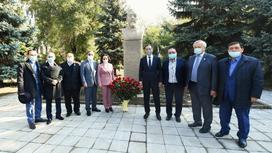 Памятник Ахмету Байтурсынову