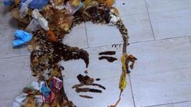 Портрет Моргенштерна из мусора