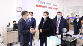 Олжас Бектенов в Кызылорде