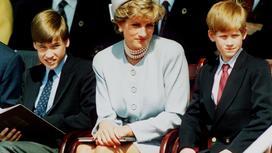 Принцесса Диана, принц Уильям и принц Гарри