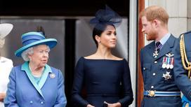 Королева, Меган Маркл и принц Гарри
