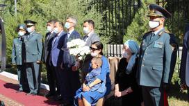 Почтили память погибшего при взрывах под Таразом
