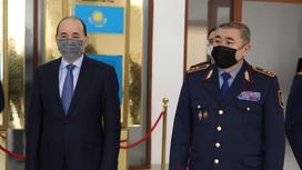 Гизат Нурдаулетов и Ерлан Тургумбаев
