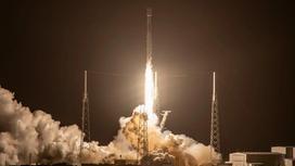 Запуск ракеты-носителя SpaceX Falcon 9 с ретрансляционным спутником SXM-8