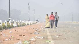 Загрязненный воздух в Индии