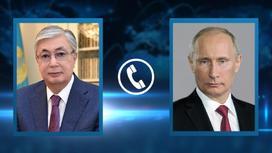 Токаев и Путин