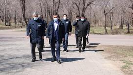 Совещание акима Карагандинской области