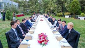 Прием дипломатов в Кабуле