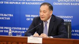 Ералы Тугжанов на пресс-конференции