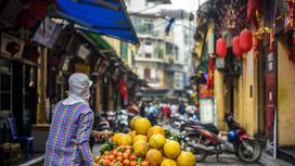 мужчина на рынке