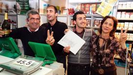 победители  в лотереи