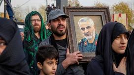 Оплакивание генерала Касема Сулеймани