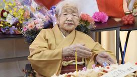 118-летняя Канэ Танака
