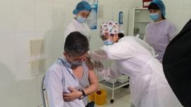 Вакцинация в Уральске