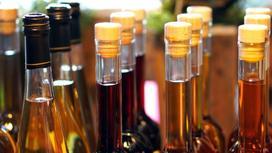 Бутылки с алкоголем