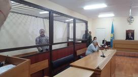 Осужденный в зале суда