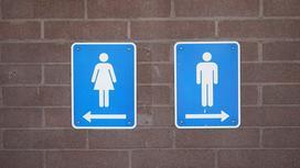 Туалет женский и мужской