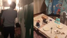 Обстановка в доме в Актау