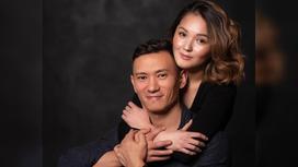 Данияр Жумадилов с супругой