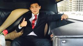 Казахстанский боксер Даурен Жумсакбаев