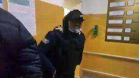 Задержанный подозреваемый