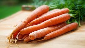 Морковь на доске