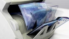 Деньги в счетмашинке