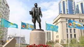 Памятник Талгату Бегельдинову