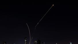 Ракеты в небе Израиля