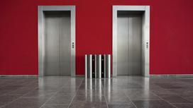 Лифт в здании