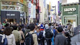 Люди на улице в Китае