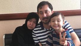 Аманниса Абдулла с мужем Ахмадом и сыном Мусой