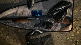 Изъятое у подозреваемого оружие