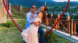 Асель Аскар с мужем