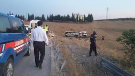 Экстренные службы прибыли на место аварии