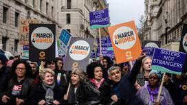 Женщины на акциях протеста