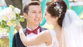 Алия Телебарисова с мужем