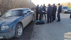 Задержание в Уральске