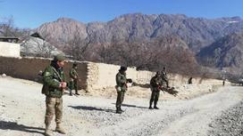 Военные на границе
