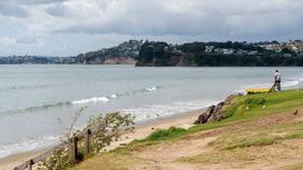 Пляж в Новой Зеландии