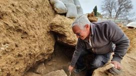 Археологи на месте раскопок в Иерусалиме