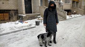 Жительница Павлодара Елена