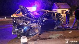 Chevrolet Tracker, поврежденный в результате ДТП