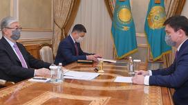 Касым-Жомарт Токаев и Асет Иргалиев
