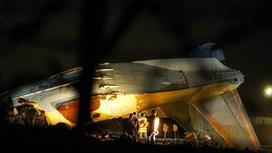 Обломки самолета Ан-26 под Алматы