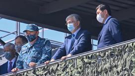 Президент Алматы облысында1