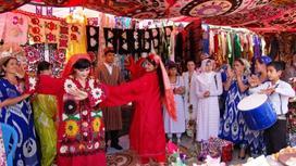 таджикская свадьба
