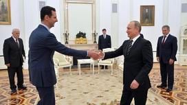 Встреча Путина и Асада в октябре 2015 года