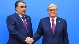 Қасым-Жомарт Тоқаев пен Эмомали Рахмон